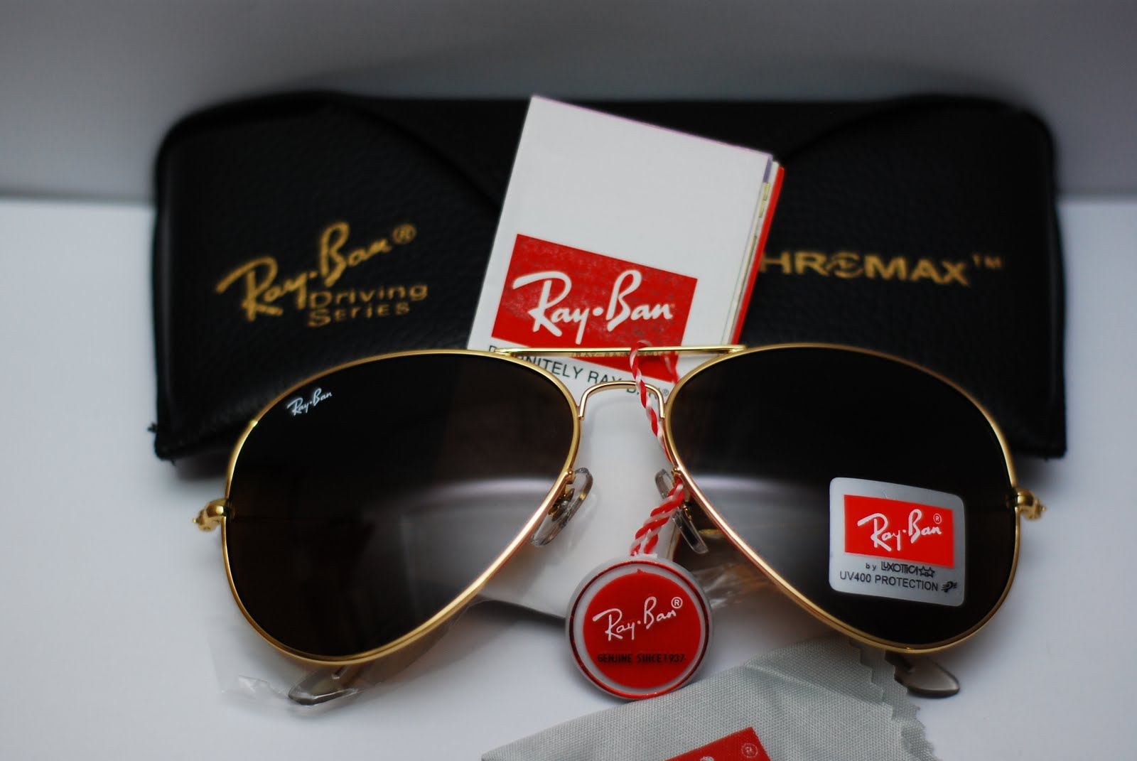 a4e22517a Ray Fan Shop: Rayban Aviator Gold Frame / Brown Lens