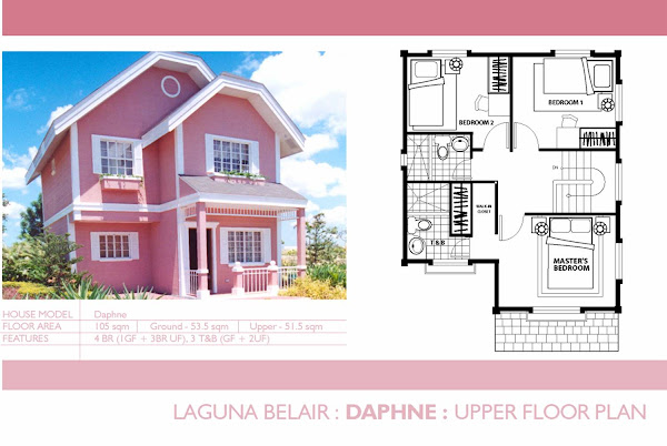 Daphne: Upper Floor Plan