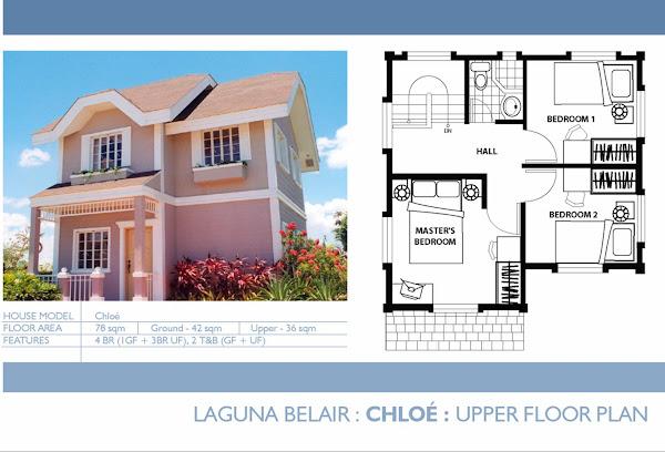 Chloe: Upper Floor Plan