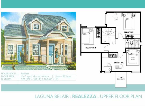 Realezza: Upper Floor Plan