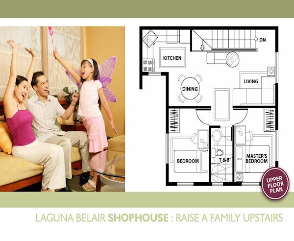 Shophouse: Second Floor Plan