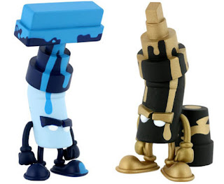 The design llama: Kid Robot -Bent series 1 by Mad