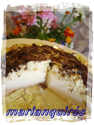 Tarta de queso y chocolate Bifinett