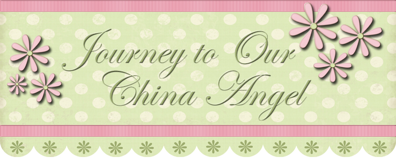 Journey to our China Angel