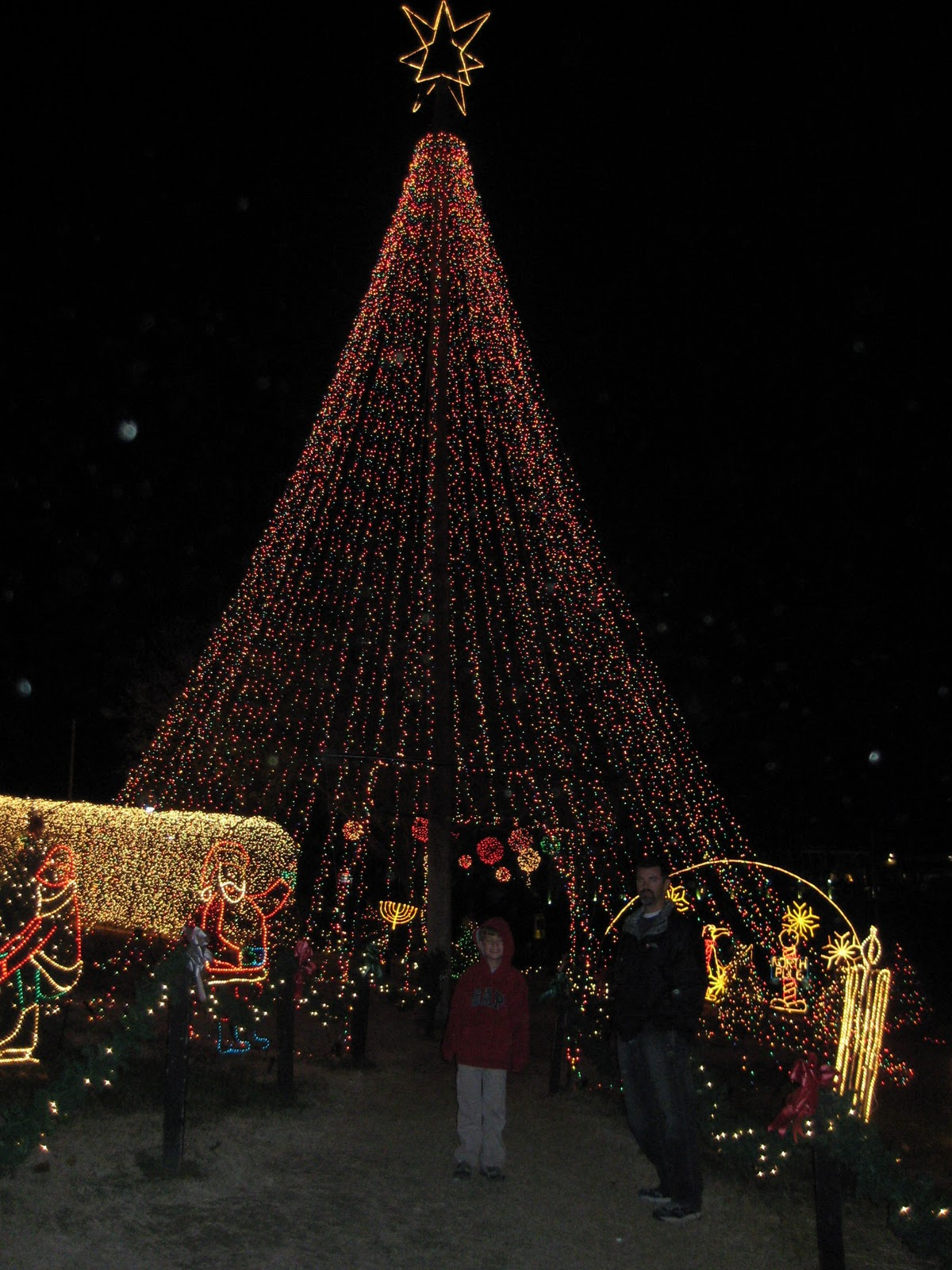 Marble Falls Christmas Lights.Ms Not So Perfect Marble Falls Walkway Of Lights