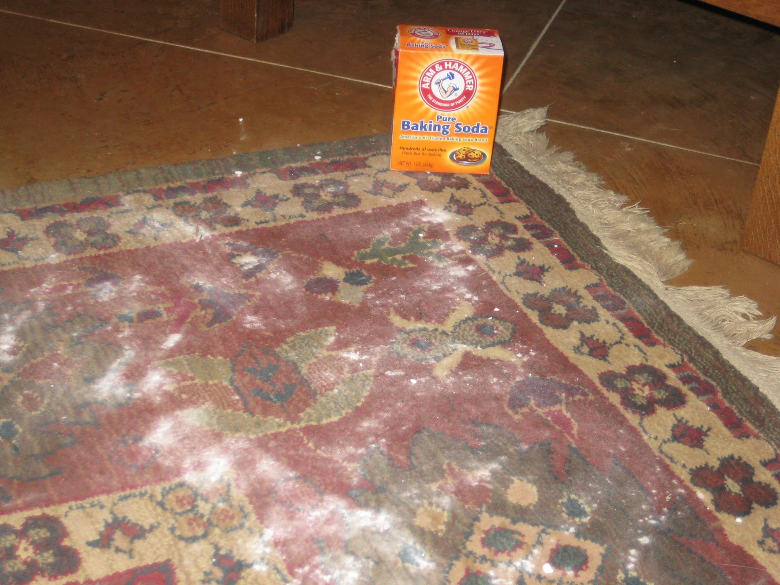 Ms Not So Perfect...: Baking Soda for Your Carpet