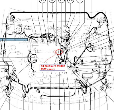 Honda CRV turning Noise: 1996 Camry oil pressure switch