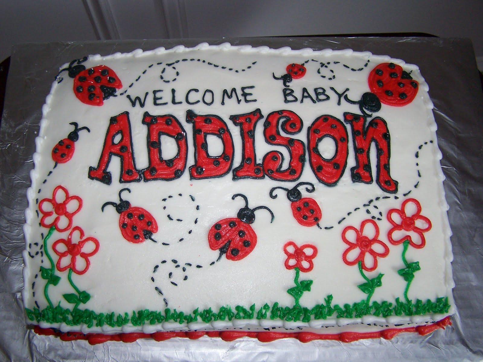 Creative Cakes N More Ladybug Sheet Cake