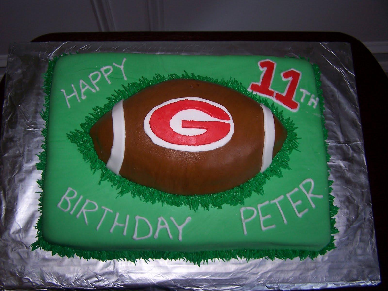 Creative Cakes N More Uga Football Cake