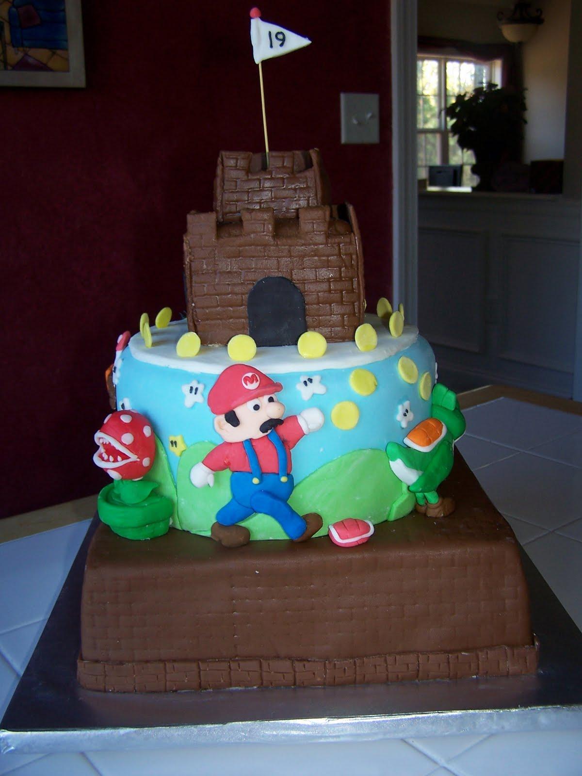 Creative Cakes N More Super Mario Bros Cake
