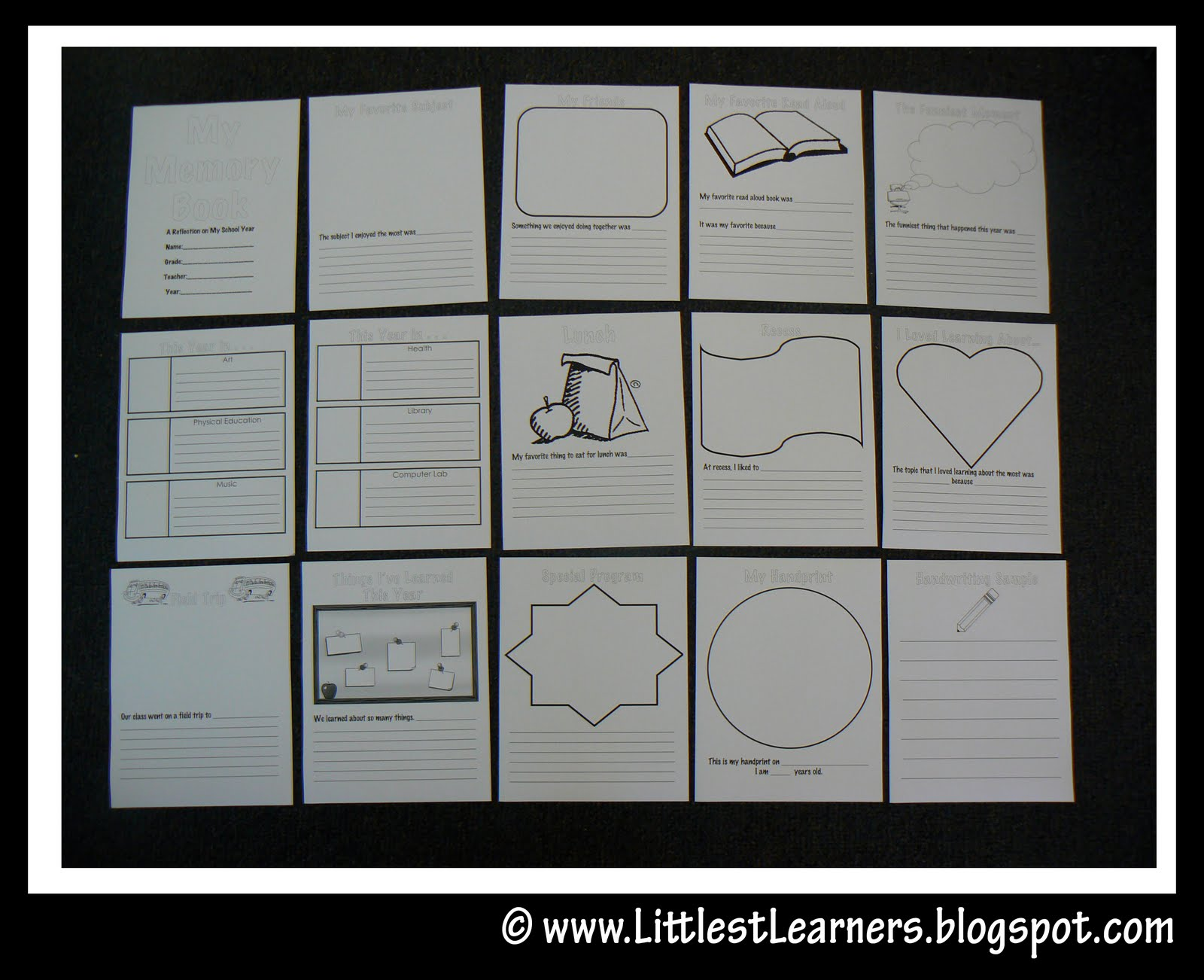 End Of The Year Lesson Activity Ideas