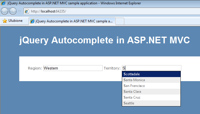 jQuery Autocomplete in ASP NET MVC