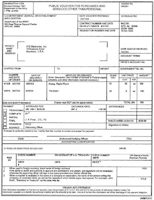 SMALL BUSINESS FEDERAL GOVERNMENT CONTRACTING (\ - sample invoices for small business