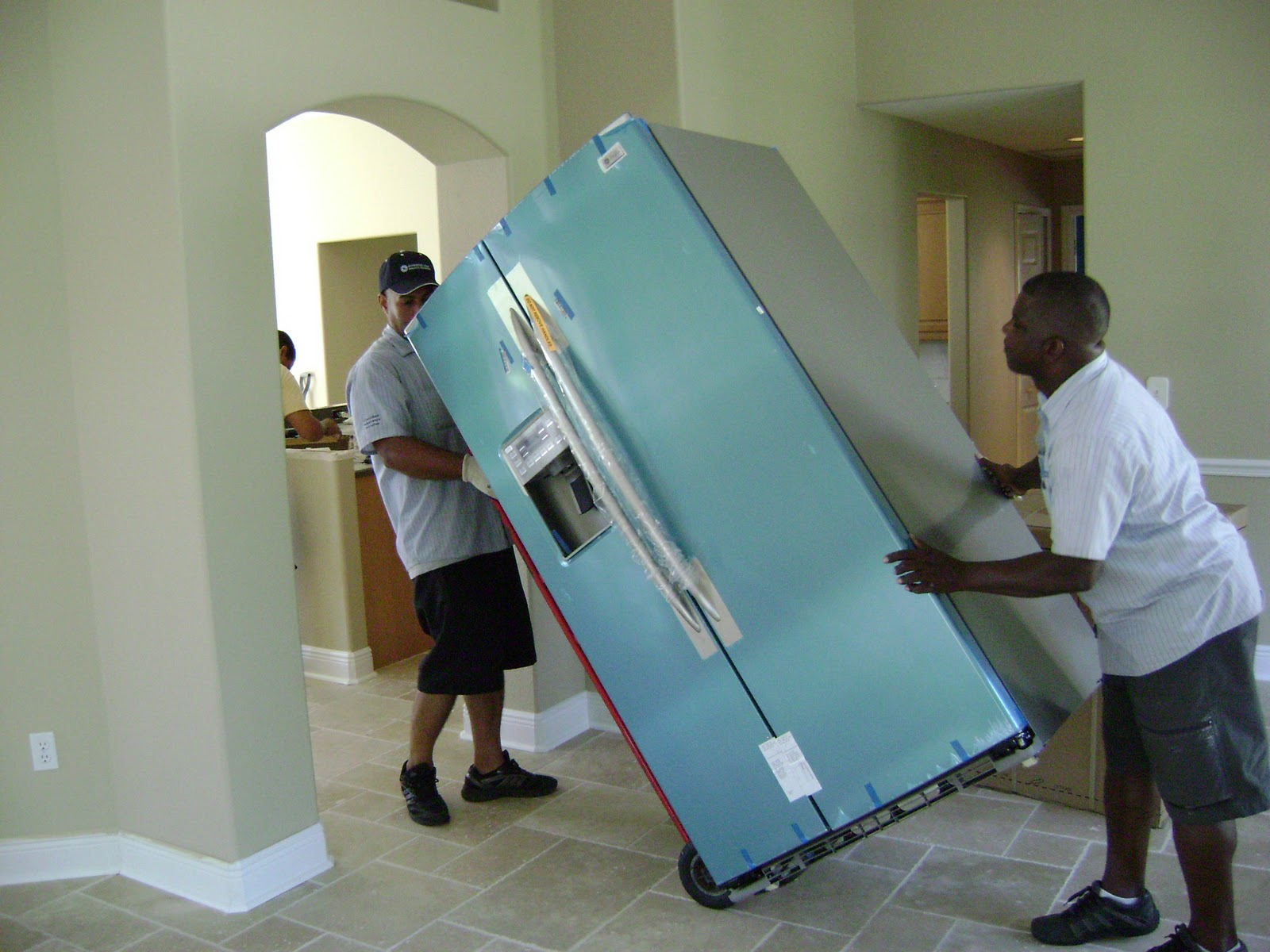 How To Move A Refrigerator Moving