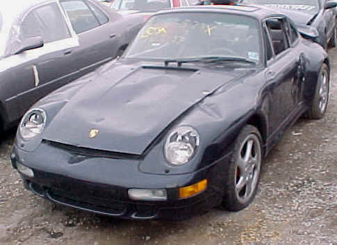 finding damaged and wrecked porsches for sale july 2010. Black Bedroom Furniture Sets. Home Design Ideas