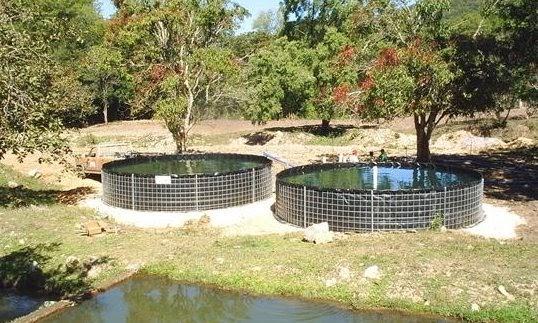 Ecolotepec proyecto ecotur stico sustentable y desarrollo for Construccion de estanques circulares para tilapia