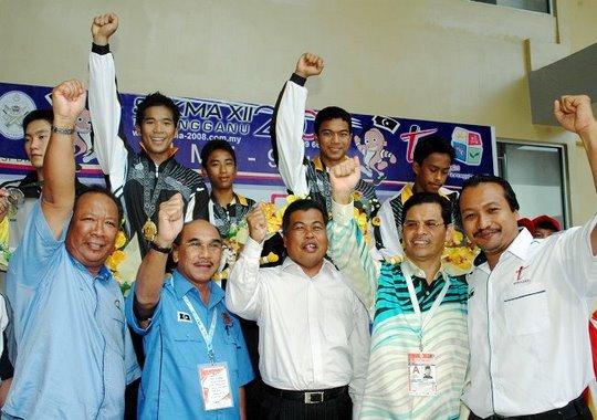 Terengganu Juara Skuasy