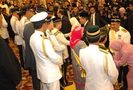 Perasmian Sidang Parlimen Kali Pertama 2008