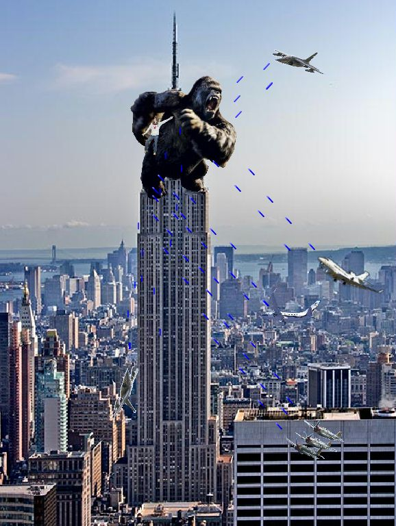 Chrysler building king kong #1