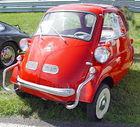 BMW Isetta (bubble car/ rolling egg), a Small, Strange and Beautiful Car!