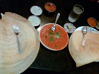Dosa with Pav-Bhajis Bhaji, It's Different!