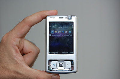 There's a thing in my pocket………….A tempting Nokia N95 Ad. I am dying to get this Thing.  I want this thing in MY Pocket!