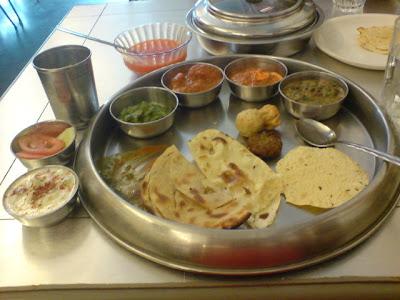 Punjabi Thali - Siddhartha, Bandra