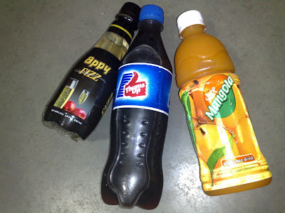 My Favorite Soft Drinks Thums Up, Mangola and Appy Fizz