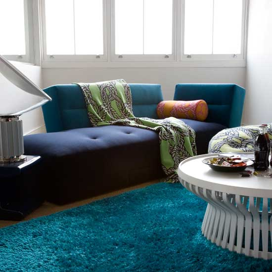 Teal Living Room Ideas: Henry Road: Teal Waters