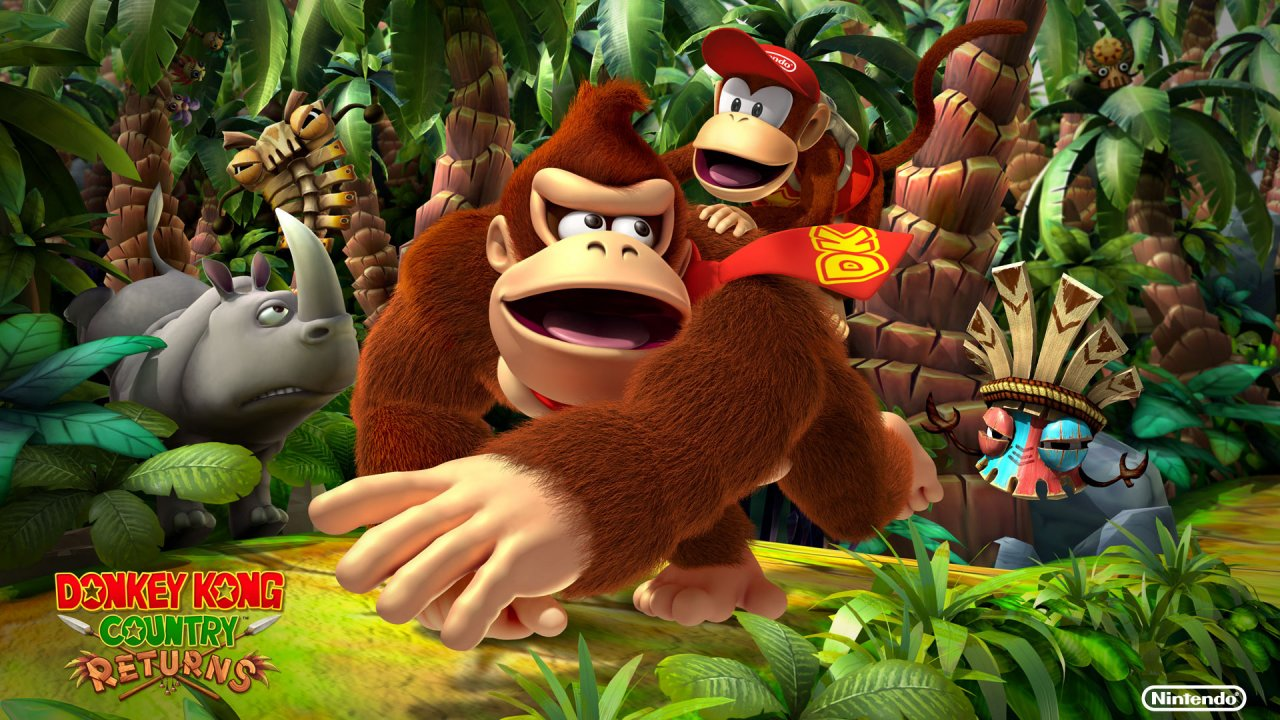 Leave Luck To Heaven: Donkey Kong Country Returns ~Review~