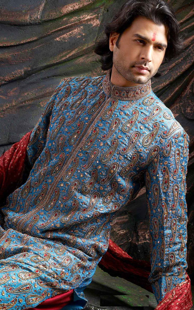 Enjoy: Men Salwar Shalwar Kameez- Men Wedding Sherwani