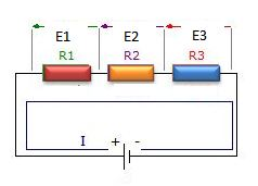 resistors in series diagram