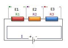 resistors in series diagram