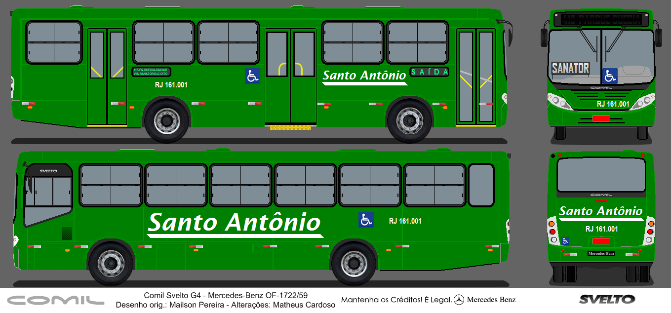 Onibus Do Rio De Janeiro Transportes Santo Antonio Intermunicipal