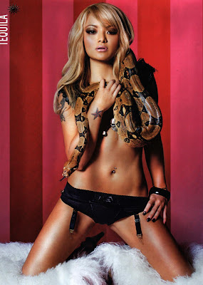 Mercedes West Houston >> Best Cool Pics: American Model Tila Tequila In CKM Magazine