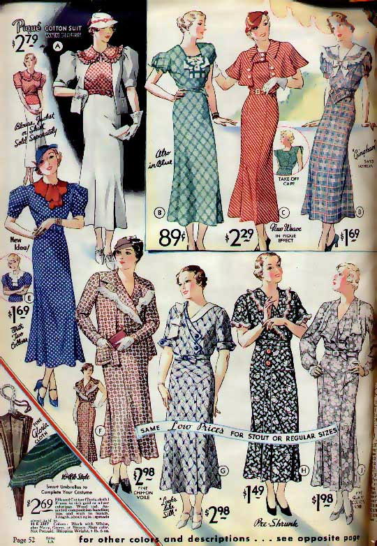 10minutes2breathe: Fashions Of The 30's... My New Favorite