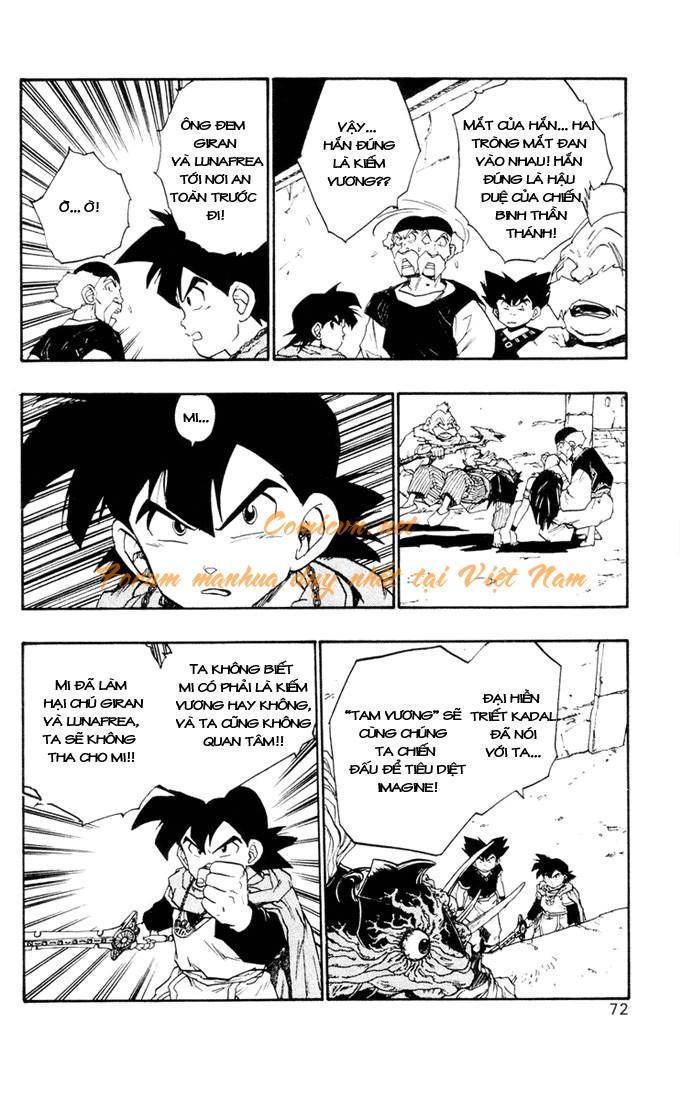 Dragon Quest: Emblem of Roto chapter 9 trang 39