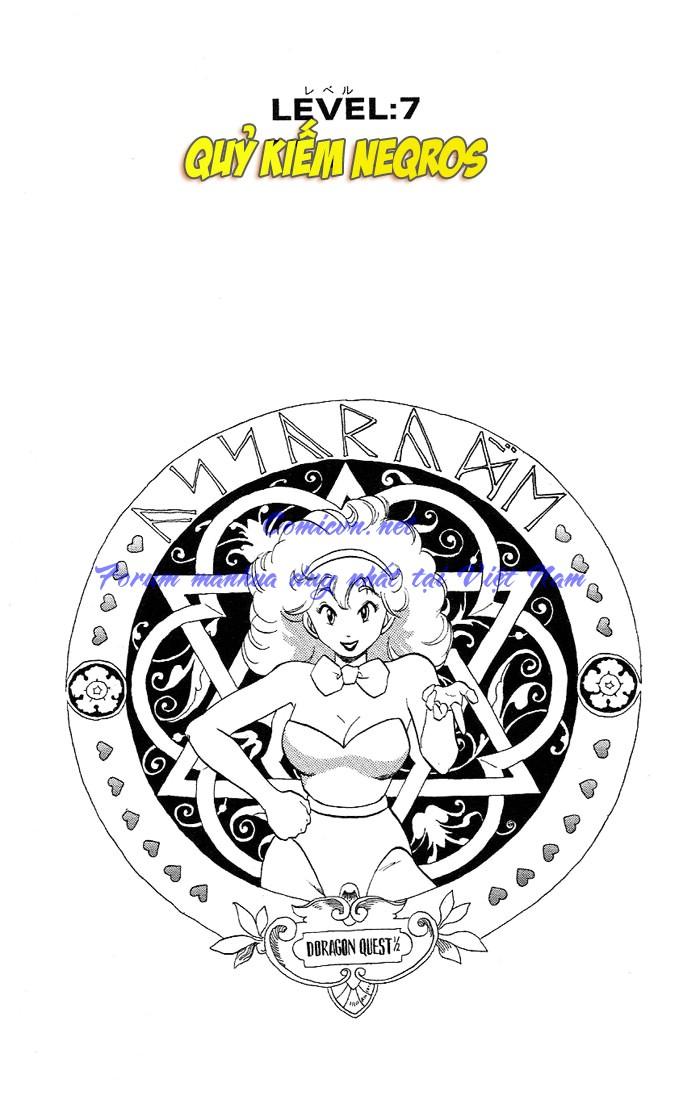 Dragon Quest: Emblem of Roto chapter 7 trang 1