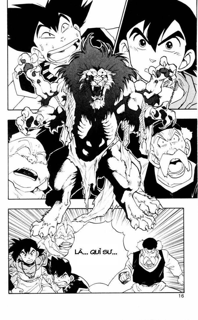 Dragon Quest: Emblem of Roto chapter 8 trang 21