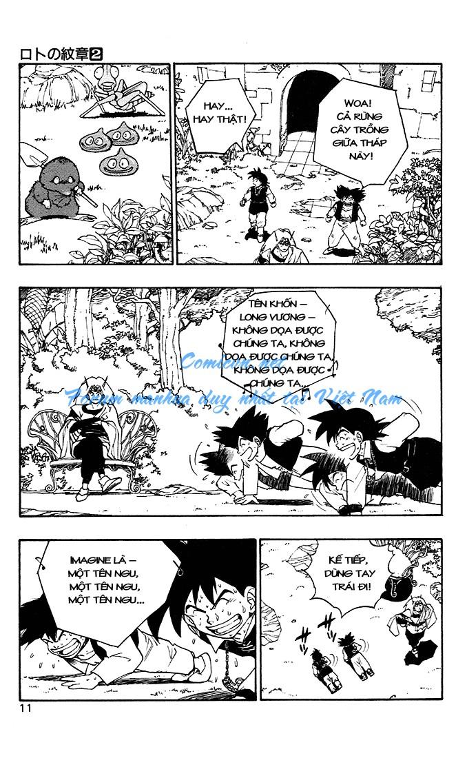 Dragon Quest: Emblem of Roto chapter 4 trang 13