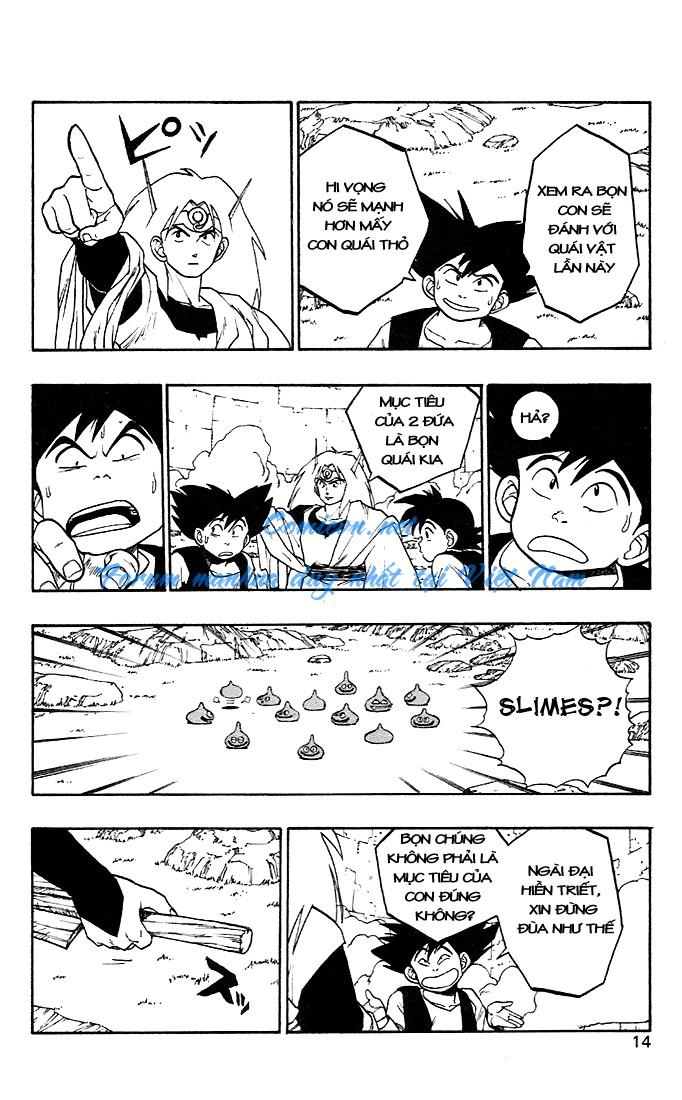 Dragon Quest: Emblem of Roto chapter 4 trang 19