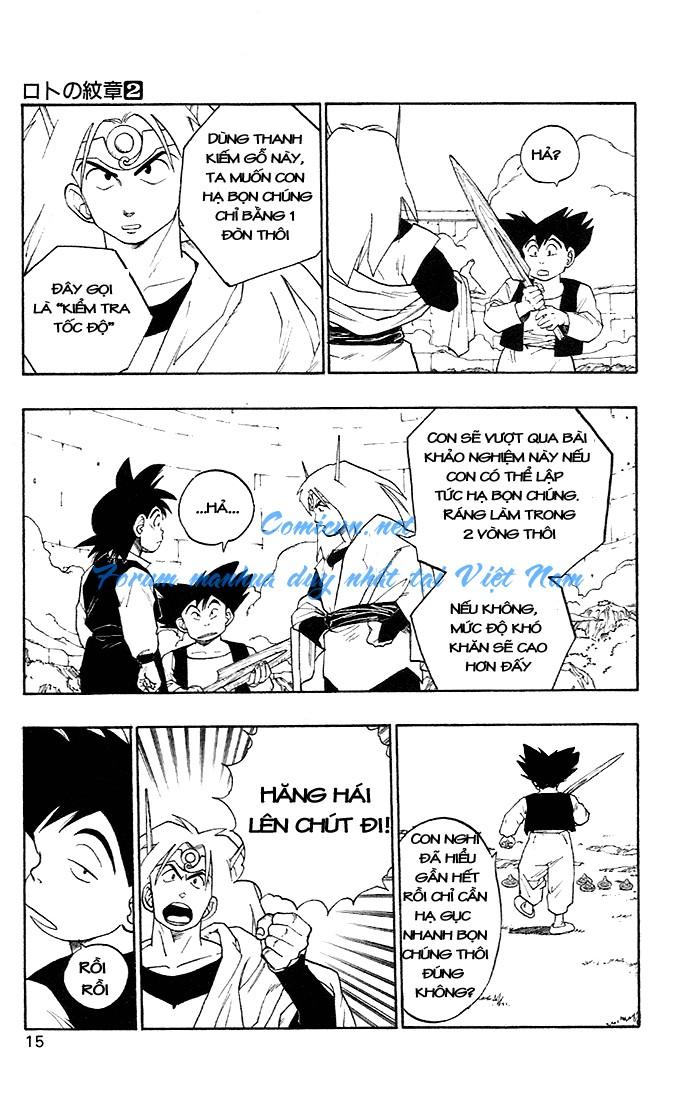 Dragon Quest: Emblem of Roto chapter 4 trang 21