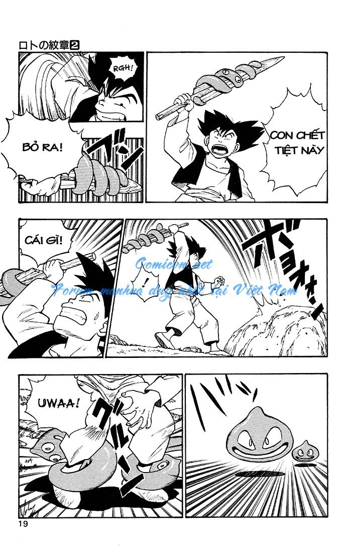 Dragon Quest: Emblem of Roto chapter 4 trang 29