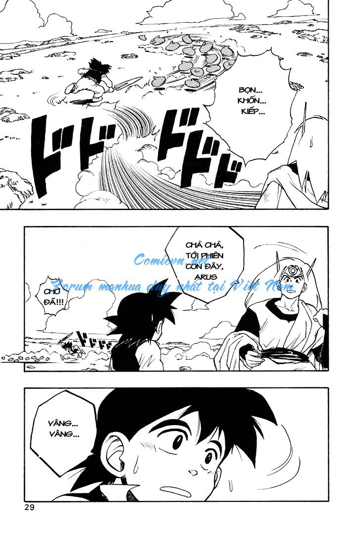 Dragon Quest: Emblem of Roto chapter 4 trang 49