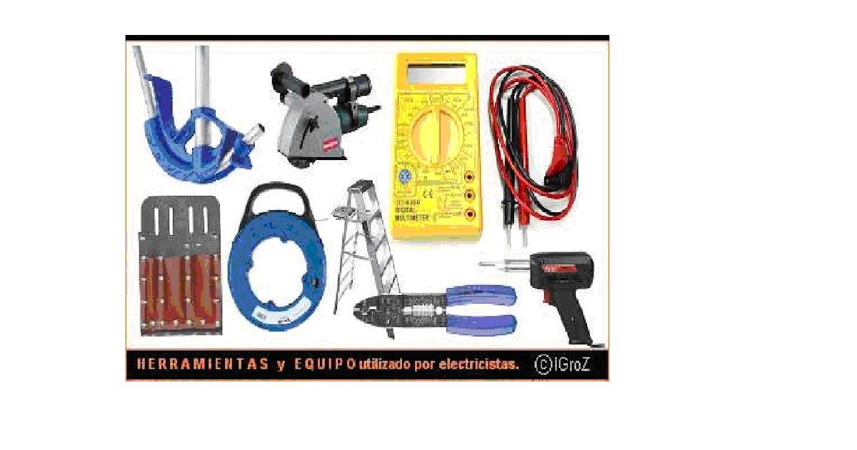 Electricidad 6 herramientas materiales y equipos for Herramientas que se utilizan en un vivero
