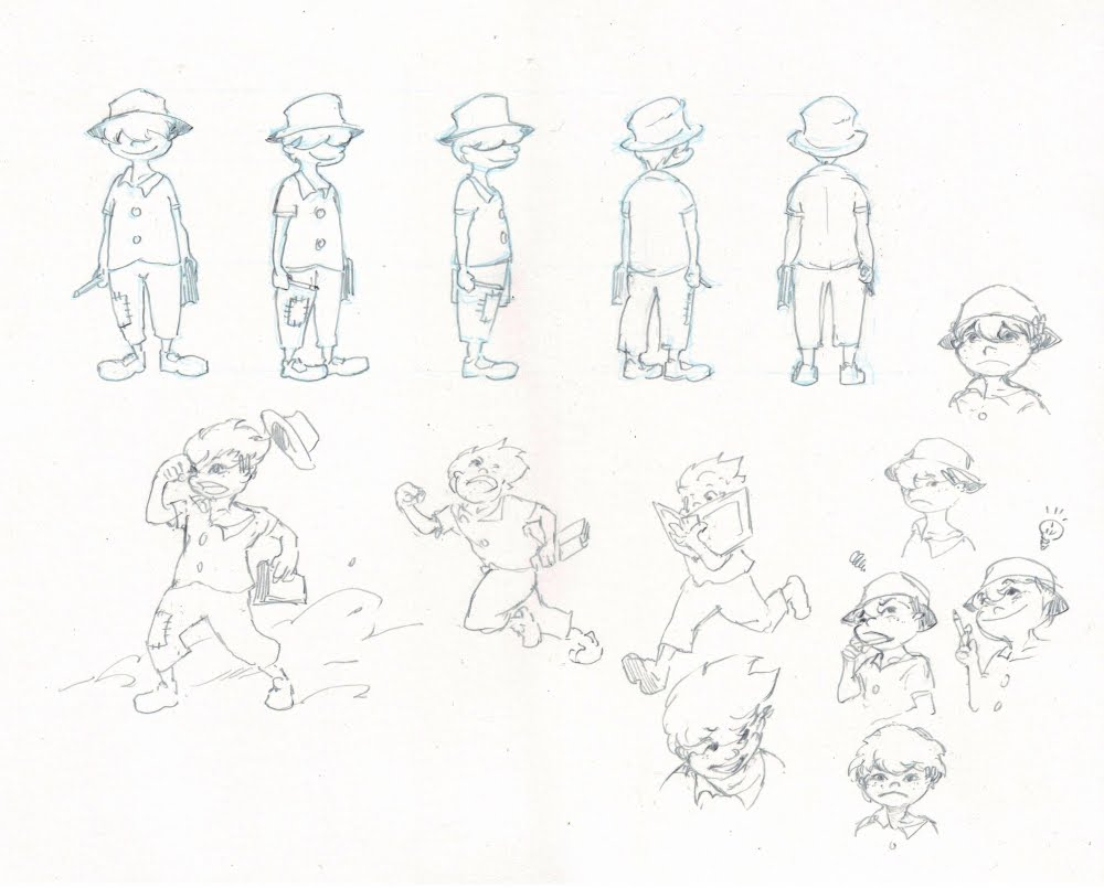 WILLIAM NIU: Pre Production Character Design
