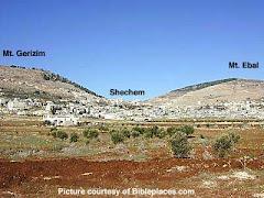 Monte Gerizim e Monte Ebal