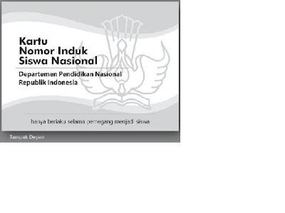 indonesia www nisn diknas go id format cetak kartu nisn