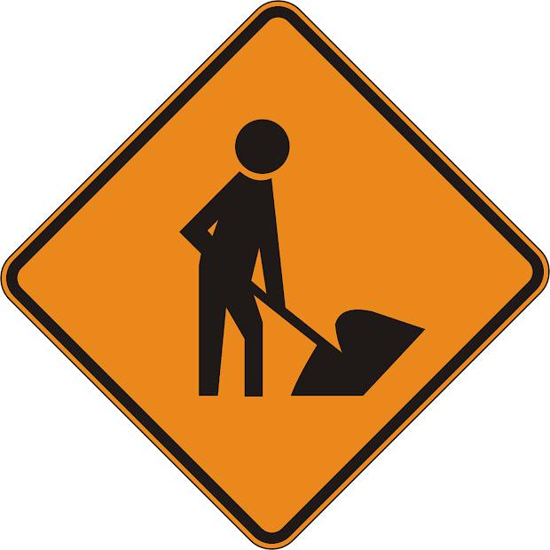 Road Construction Signs Clip Art