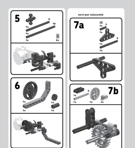 nxt ev3 building instructions